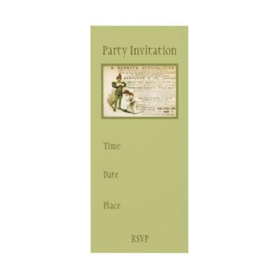 Burnet's Specialities Invitation