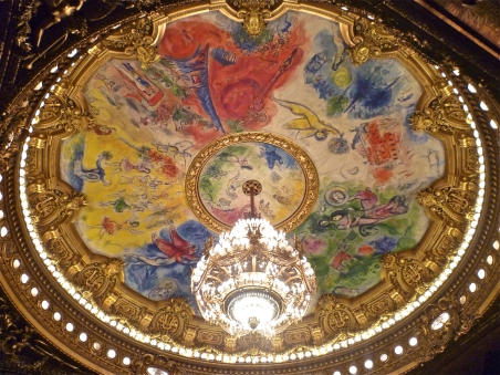 Paris Opera Ceiling by Marc Chagall