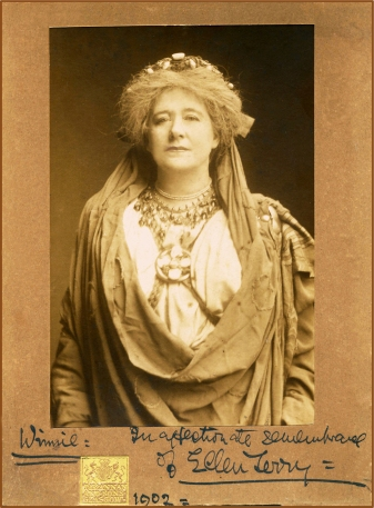 Ellen Terry as Volumnia