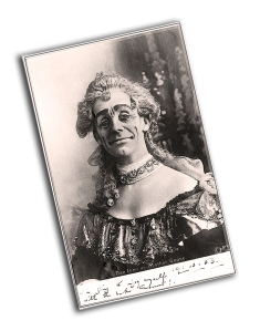 Dan Leno in Mother Goose at Drury Lane in 1902