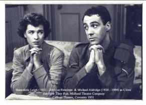 Benedicta Leigh & Michael Aldridge in See How They Run 1951