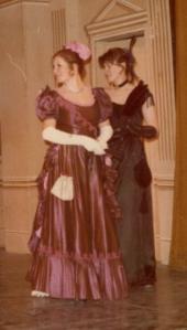 Lady Windermere's Fan at drama school