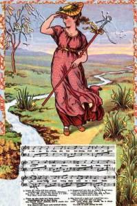 Little Bo Peep illustrated by Walter Crane