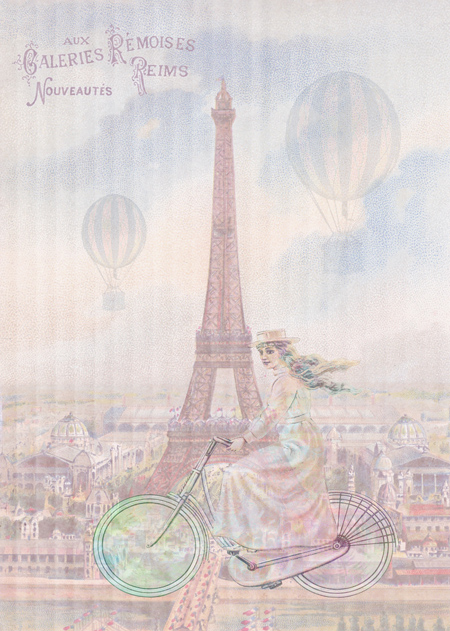 Bicycling Through Paris