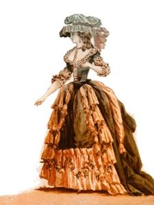 Georgian Lady - Vintage Art Download