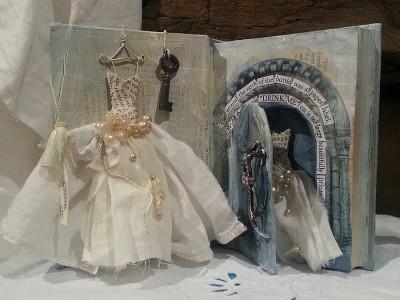 Alice in Wonderland Art Assemblage