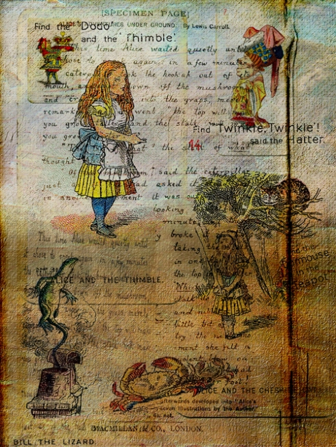 Newly-minted Alice: Collage