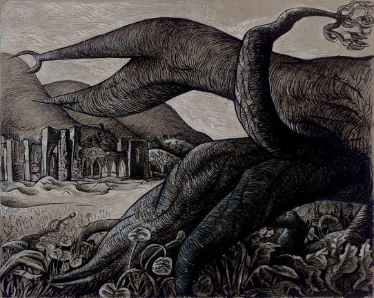 Dark and fecund lands: Llanthony Abbey (1942)