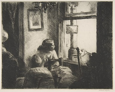 Night Shadows Edward Hopper (American, Nyack, New York 1882–1967 New York) Date: 1921 Medium: Etching