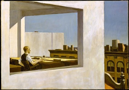 Office in a Small City Edward Hopper - The Metropolitan Museum of Art