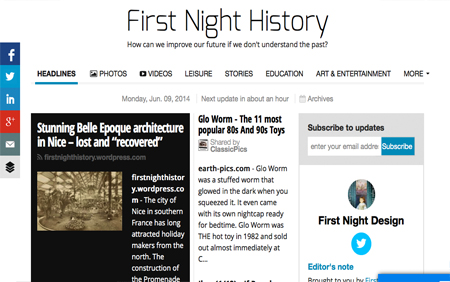 First Night History