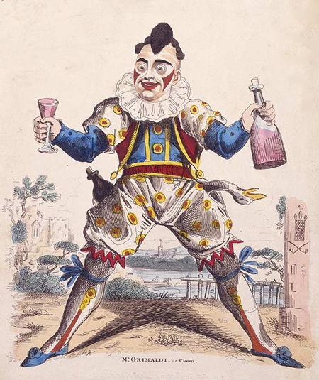 Joseph Grimaldi, Clown 1778-1837 © First Night Design