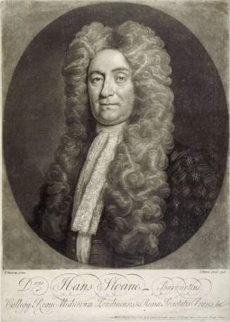 Sir Hans Sloane, founder of the British Museum