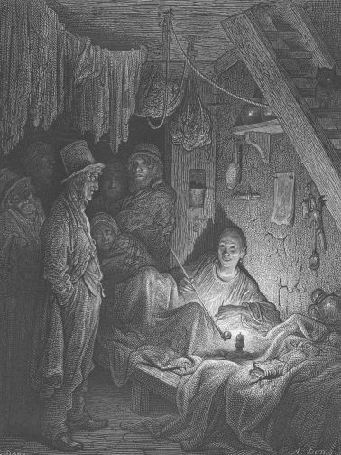 A London opium den in the 1870s, by Gustav Doré Image: Hulton Archive/Getty