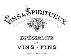 French Vintage Wine Label  - The Graphics Fairy