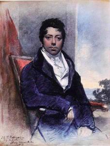 Grimaldi in 1819 by J.E.T. Robinson
