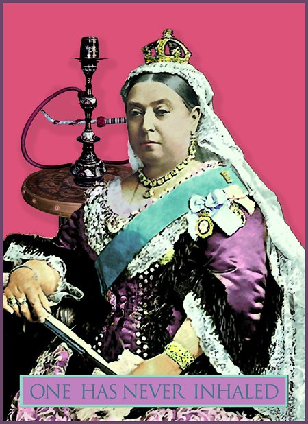 The Queen and the Hookah