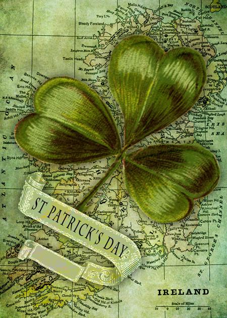 Shamrock for Ireland © First Night Design