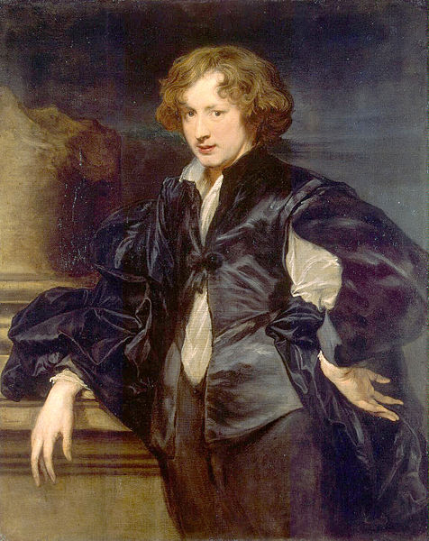 Anthony van Dyck - Self-Portrait circa  1618-1619