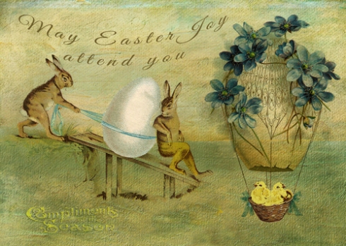 May Easter Joy Attend You © First Night Design