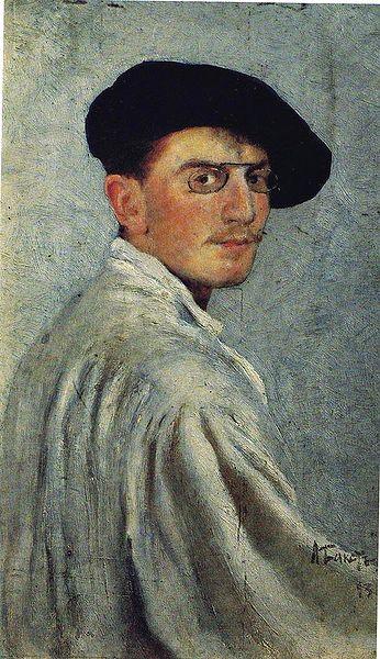 Léon Bakst 1867-1924 — Self Portrait 1893