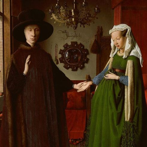 The Arnolfini Portrait by Jan van Eyck (1434)