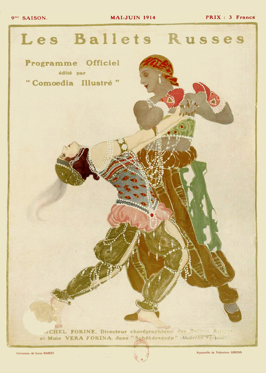 Scheherazade, LeŽon Bakst & the Ballets Russes