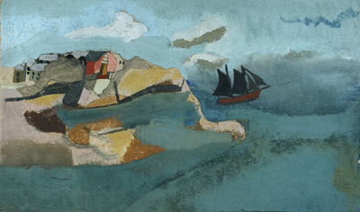 Ben Nicholson, 1930 (Cornish Port)