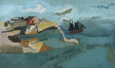 Ben Nicholson, 1930 (Cornish Port)
