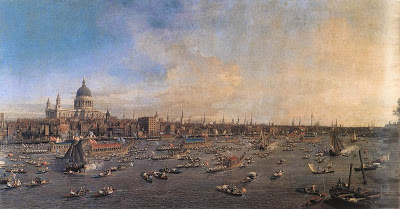 The Thames and the City, 1747