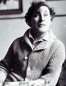 Marc Chagall in Paris, 1921 [Wikipedia]