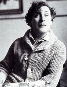 Marc Chagall in Paris, 1921 [Wikipedia]
