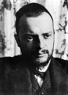 Paul Klee in 1911, photographed by Alexander Eliasberg [Wikipedia]
