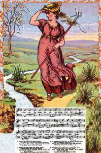 Little Bo Peep illustrated by Walter Crane