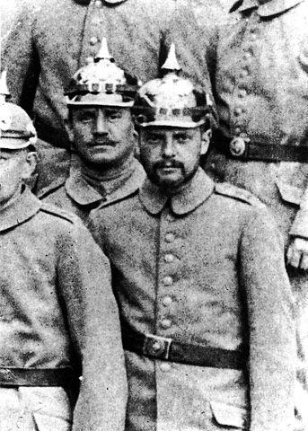 Paul Klee as a soldier in 1916