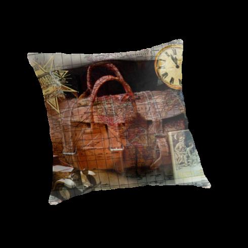 Bon Voyage Cushions @ Redbubble