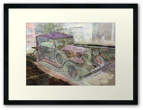 Get Me to the Church on Time! Framed Print © Sarah Vernon. Click to buy.
