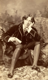 Oscar Wilde by Napoleon Sarony 1882 © First Night Vintage