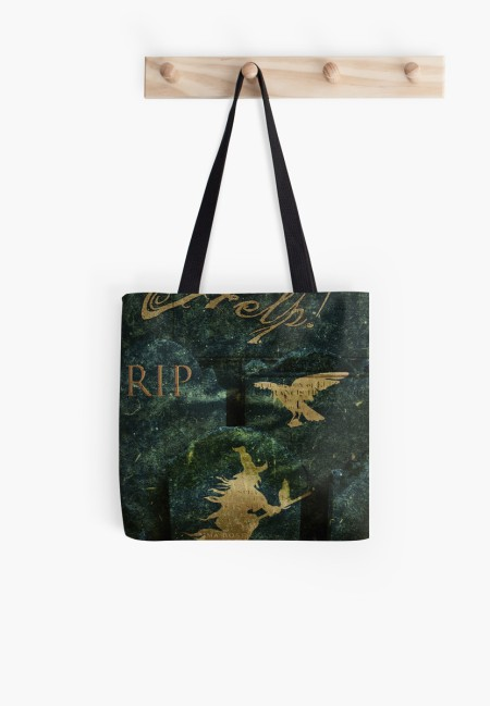 Gravestone Hell Tote Bag © Sarah Vernon [Click to buy]