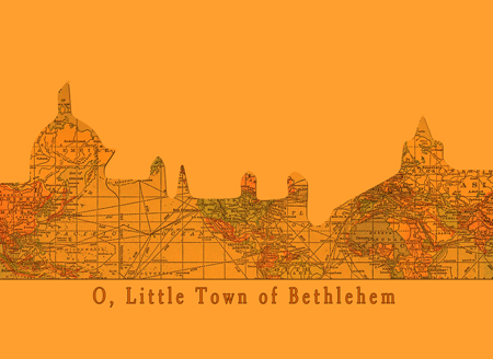 O Little Town of Bethlehem Postcards © Sarah Vernon
