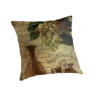 Vins Spiritueux, Nectar of the Gods Cushion © Sarah Vernon