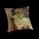 Vins Spiritueux, Nectar of the Gods Cushion © Sarah Vernon