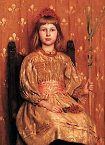 Thomas_Cooper_Gotch_-_My_Crown_And_Sceptre_1891
