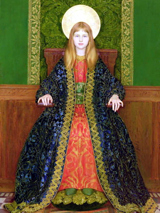 Thomas_Cooper_Gotch_-_The_Child_Enthroned_1894