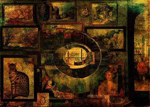 Cabinet of Curiosities © Sarah Vernon