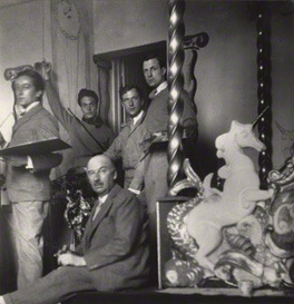 NPG x40681; Rex Whistler; Gerald Tyrwhitt-Wilson, 14th Baron Berners; Oliver Hilary Sambourne Messel; Cecil Beaton by Cecil Beaton
