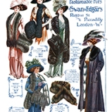 Swan & Edgar's Fashionable Furs #A © Sarah Vernon