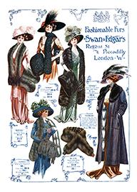 Swan & Edgar's Fashionable Furs #A © Sarah Vernon