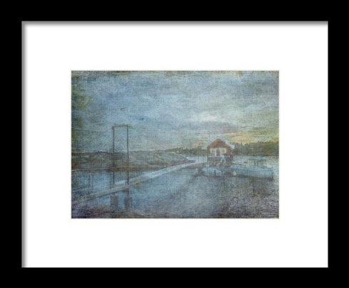 The Boat House Framed Print © Sarah Vernon [ Fine Art England]