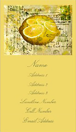 postcardlemonbizcards